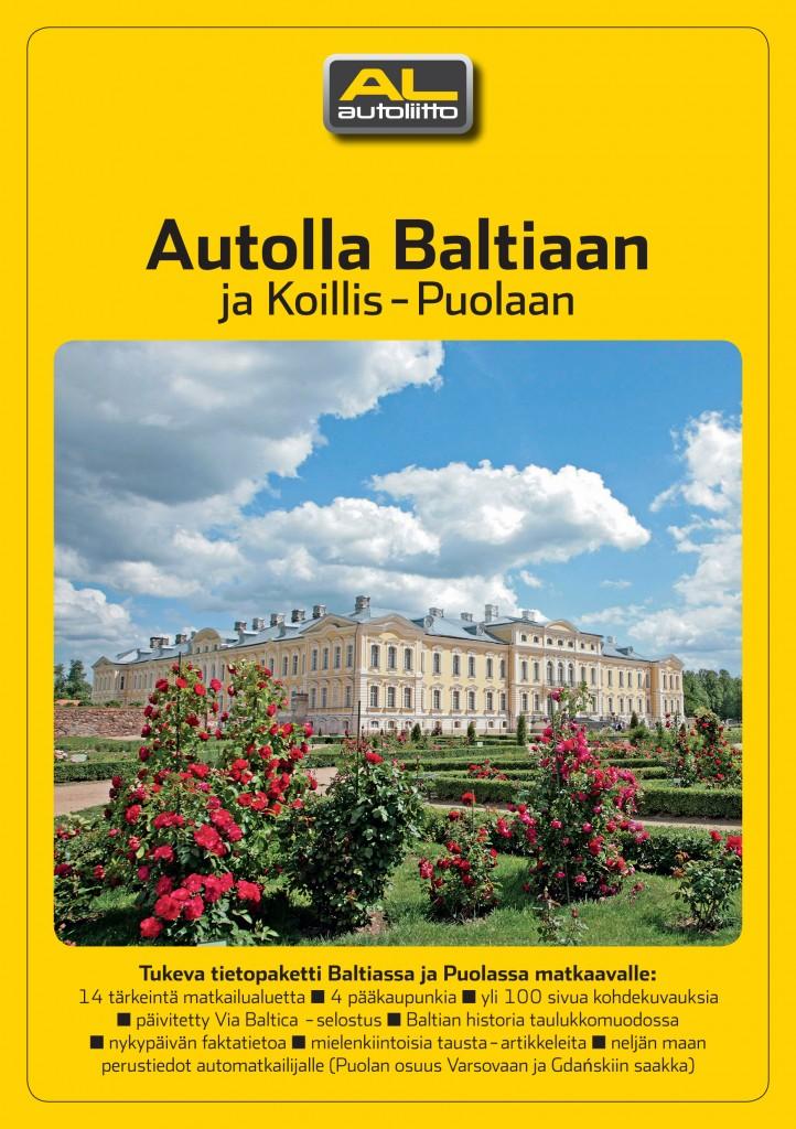 0119 Autolla Baltiaan ja Koillis-Puolaan KANSI
