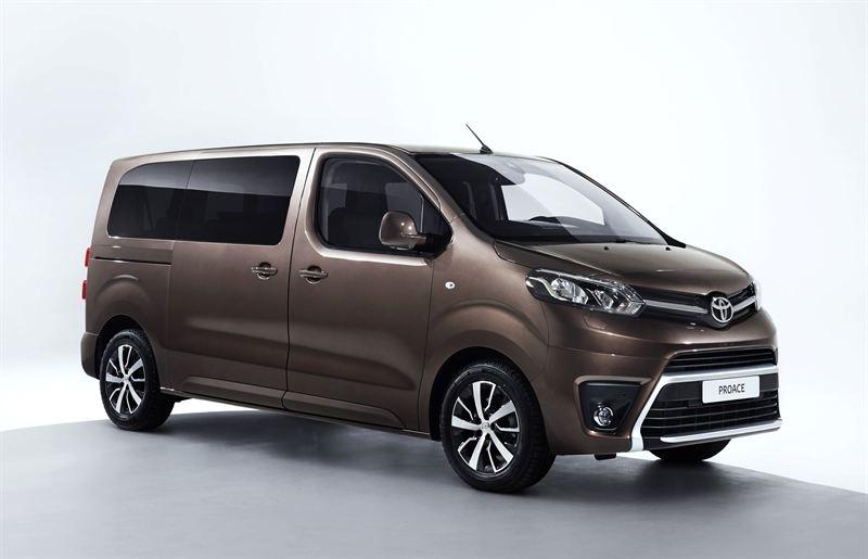 Toyota Proace:n tila-autoversio
